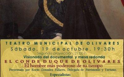 ACTO DE PRESENTACIÓN DEL DOCUMENTAL «EL CONDE DUQUE DE OLIVARES, EL HOMBRE MÁS PODEROSO DE SU TIEMPO»