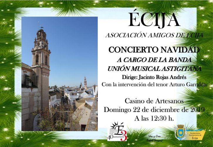 AMIGOS DE ECIJA concierto NAVIDAD DEFINITIVO TV