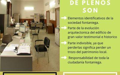 EL AYUNTAMIENTO DE FUENTES DE ANDALUCÍA CONVOCARÁ MOVILIZACIONES EN DEFENSA DEL PATRIMONIO