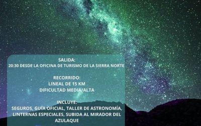 NOCTURNA SANTIAGUISTA: CAMINO DE LA FRONTERA Y LA VÍA LÁCTEA