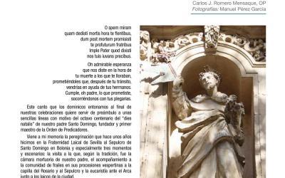 EN LOS 800 AÑOS DE LA MUERTE  DE SANTO DOMINGO DE GUZMÁN