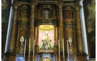 UNA SAGA FAMILIAR DEDICADA AL ARTE: LOS GUISADO. EL RETABLO MAYOR DE LA IGLESIA PARROQUIAL DEL VISO DEL ALCOR: OBRA DE RAMÓN GONZÁLEZ GUISADO (1802)