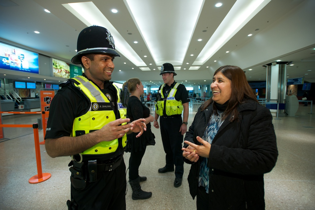 Special Constables at Birmingham Airport