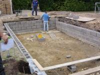Liner Pool Wall Construction | Ascot Pools - Swimming Pool ...