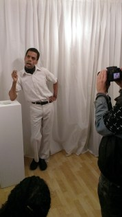 "Anthony Julius Williams performs ""James Baldwin's Take This Hammer"" at ASC Projects (2014)"