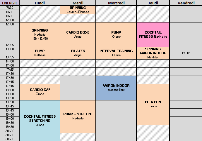 ENERGIE 10-14 AVRIL