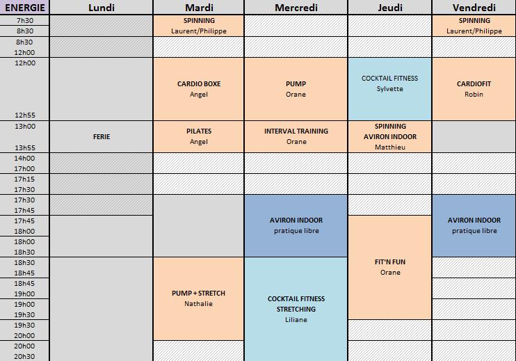 ENERGIE 18-21 AVRIL