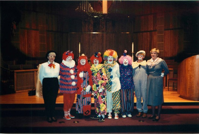 Our clown ministry group