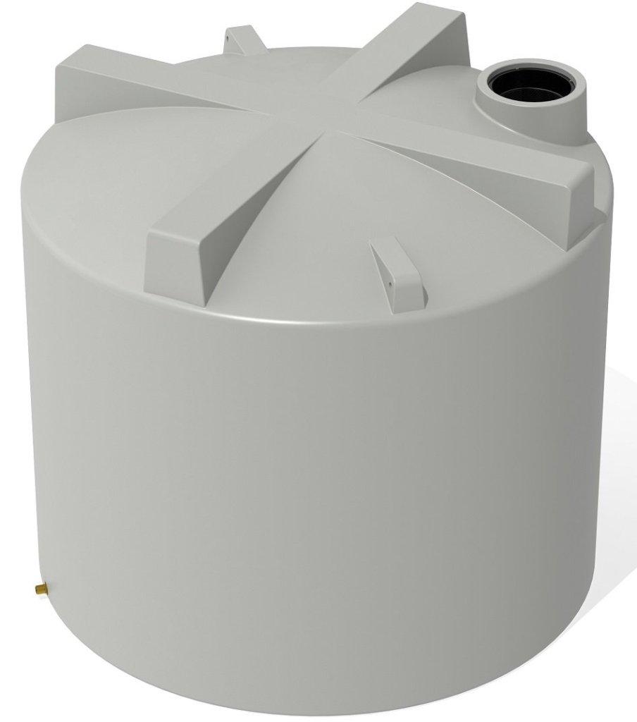 6000 LT Pro Plastics Round Rain Water Tank