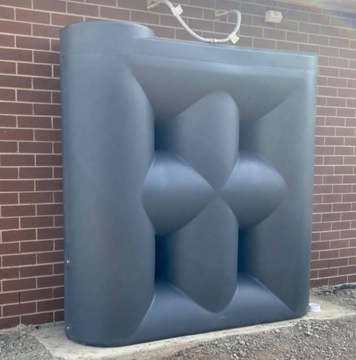 Best 2000 Litre Slimline Water Tank Melbourne