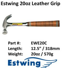 Estwing Hammer Leather 12oz