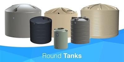 Round Water Tanks Melbourne | ASC Water Tanks Melbourne