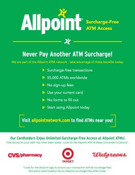 allpoint free atms