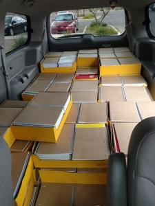 loaded school supplies