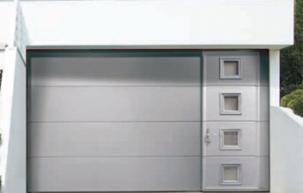 Porte de garage aluminium