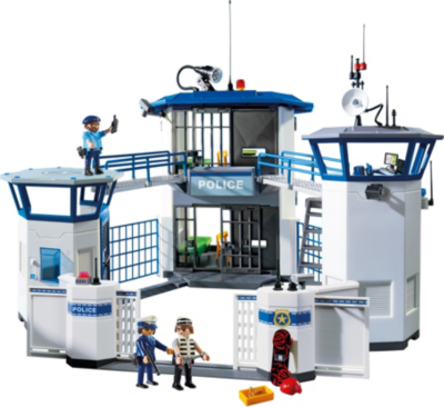Playmobil Police Headquarters With Prison 6919 Kids