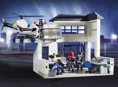 Playmobil City Action Police Station Bundle 9372  Toys