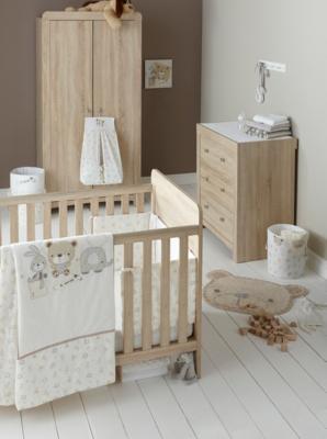 East Coast Fontana Nursery Furniture Roomset