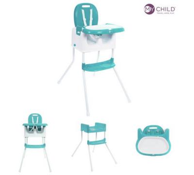 baby high chairs asda hire chair covers glasgow my child graze highchair aqua | george at