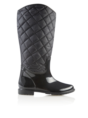 Quilted Wellington Boots Women George At ASDA