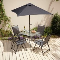 Miami 6 Piece Patio Set | Garden Furniture | George at ASDA