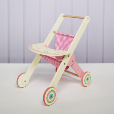 George Home Wooden Push Chair