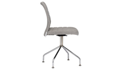 grey material office chair used captains chairs for sale george home fabric garden at asda reset