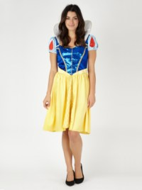 Adult Disney Snow White Fancy Dress Costume
