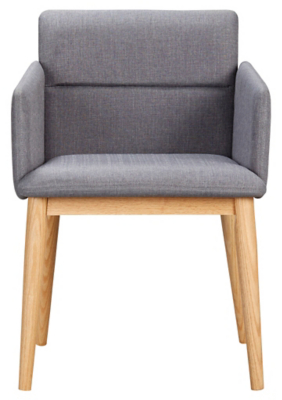 George Home Retro Upholstered Chair