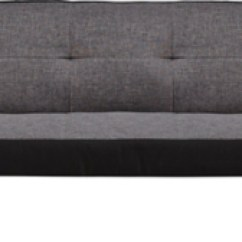 Loft Charcoal Sofa Bed Rattan Outdoor Sofas Uk Armchairs Furniture George At Asda Click Clack 2 Seater