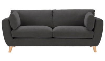 pink sofa browse uk cindy crawford home reviews sofas armchairs furniture george at asda glynn 3 seater soft linear