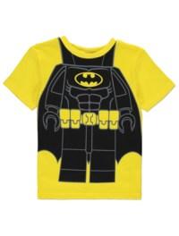 LEGO Batman Movie T-Shirt with Cape | Kids | George