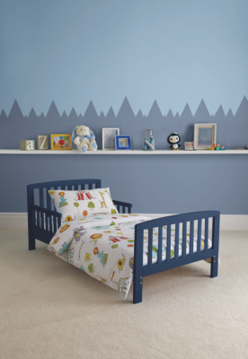 Kinder Valley Kai Toddler Bed - Navy