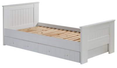 george home finley single bed with storage white bunsha default pd l