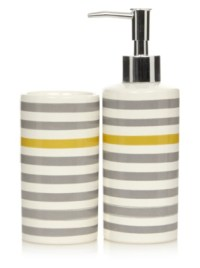 Yellow And Grey Bathroom Sets
