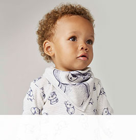 baby clothes and nursery