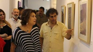 صورة أعمال فنية تعكس بَهاء الحرف العربي..