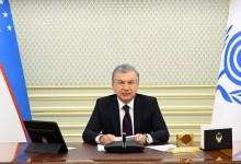 صورة رئيس جمهورية أوزبكستان : مساحة منظمة التعاون الاقتصادي هي منطقة ذات إمكانات كبيرة وتاريخ مشترك ودين وثقافة وقيم مشتركة.. (تقـريـر)..