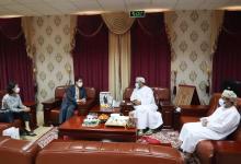 صورة سعادة سفير كوريا الجنوبية المعتمد لدى السلطنة يزور فرع الغرفة بمحافظة جنوب الشرقية..