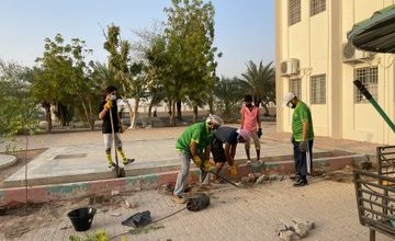 """صورة حملة """"وعيك وقاية"""" لمدارس محافظة البريمي استعداداً للعام الدراسي 2021 – 2022م."""
