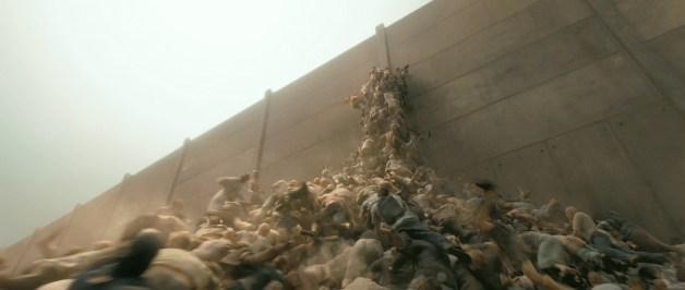Zombies escala paredes