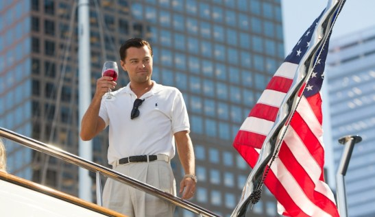 Leonardo DiCaprio, Jordan Belfort, THE WOLF OF WALL STREET