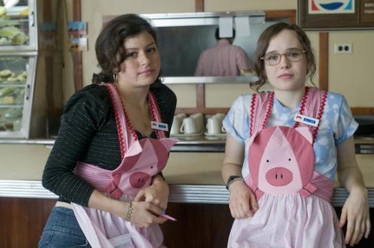 Ellen Page & Alia Shawkat (Bliss & Pash)