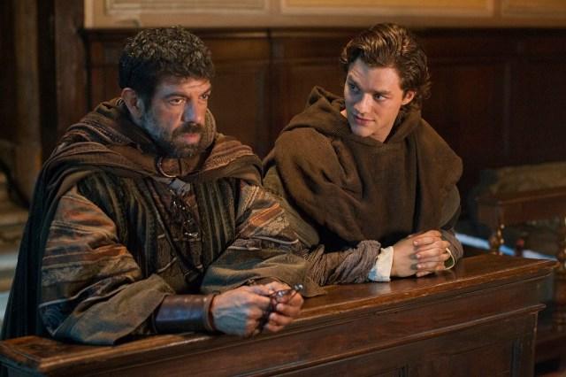 Marco (Lorenzo Richelmy) y su padre antes de dejar Florencia.