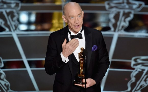 J.K. Simmons gana Mejor Actor de Reparto por su personaje en Whiplash