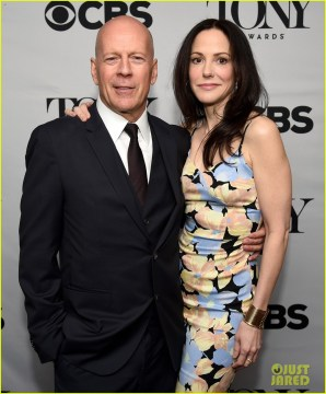 Bruce Willis  & Mary-Louise Parker