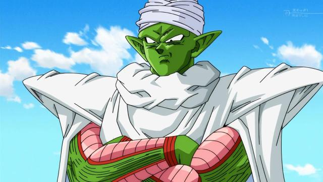Piccolo vigila a Gohan desde los cielos ;u;