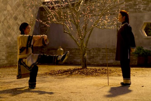 Shu Lien encuentra una discípula.