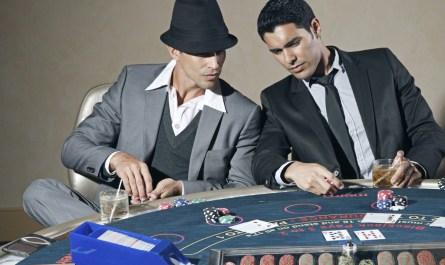 habillement joueur de poker