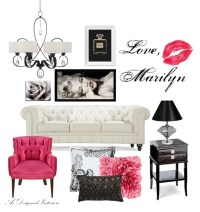 Marilyn Monroe Living Room Decor